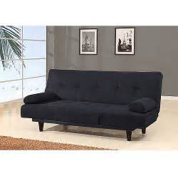 Sofa Pillows Walmart Barcelona Convertible Futon Sofa Bed And Lounger With Pillows Colors Walmart