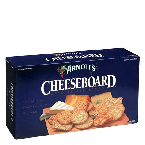 buy arnotts cracker selection cheeseboard 250g online at