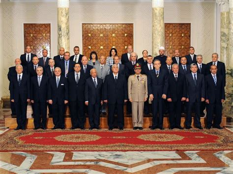 Interim Cabinet by A New Cabinet For The State