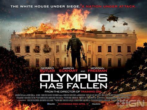 film olympus has fallen 2013 new olympus has fallen tv spot and 2 posters