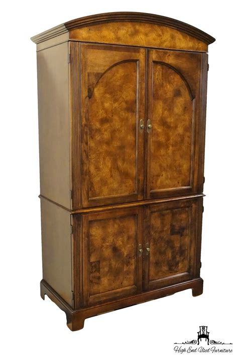 Hekman Armoire by High End Used Furniture Hekman Grand Rapids 46 Burl