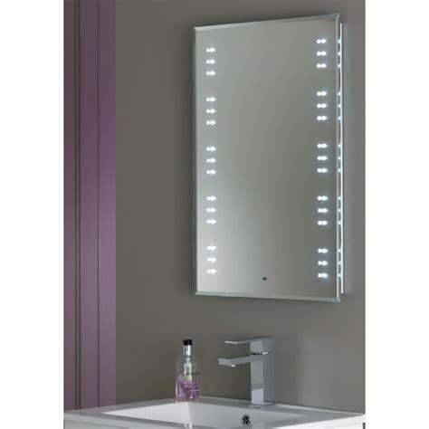 bathroom mirrors with lights uk endon el kastos modern mirror led switched bathroom
