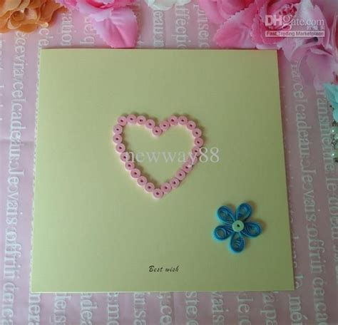 Creative Handmade Cards - 17 images about crafts paper quilling on diy