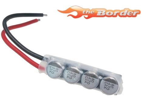 power capacitor esc yeah racing esc power capacitor htn 302 yeah racing option parts accessory for cars etc