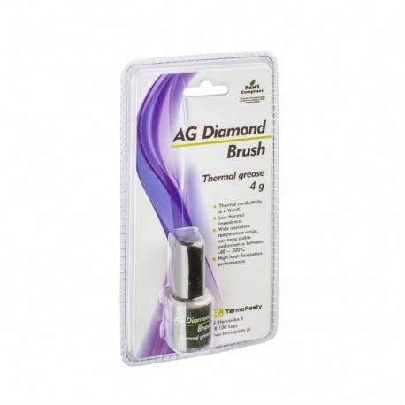 Θερμοαγώγιμη πάστα Ag Diamond Brush 4gr Extranet