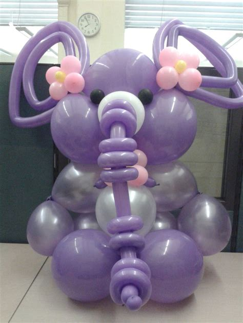 Elephant Baby Shower Balloons by Best 25 Purple Balloons Ideas On Centerpieces