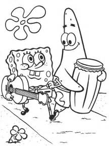 spongebob coloring book page spongebob coloring pages for