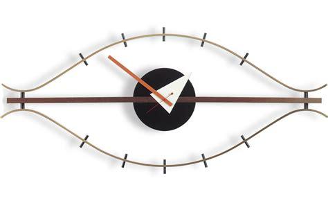 100 best made wall clock nelson wall clock george nelson eye clock hivemodern com