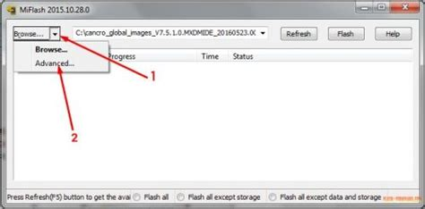 tutorial flashing xiaomi mi4 tutorial mudah flash xiaomi mi4 lte ct flash firmware