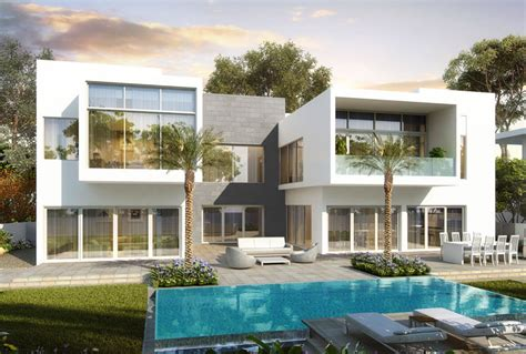 Home Plans With Apartments Attached Luxury Villas At Al Barari Dubai The Nest