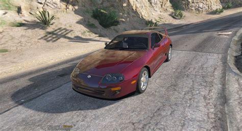 Toyota Supra Remake Toyota Supra 1998 Unmarked Vehicules Pour Gta V Sur Gta
