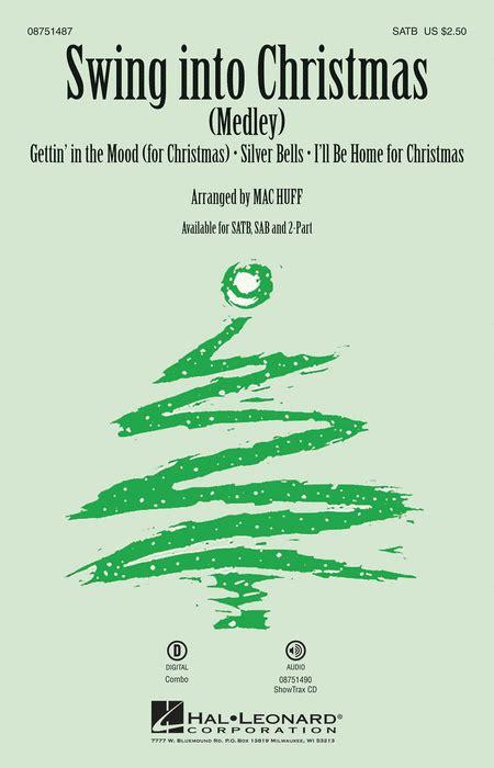 swing christmas songs swing into christmas sheet music by mac huff sheet music