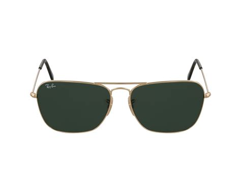 New Kacamata Rayban Caravan 3136 Gold Cokelat Uv Protection Glass ban sunglasses rb 3136 181 buy now and save 9 visionet