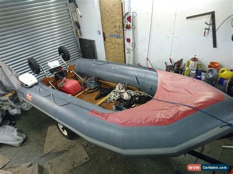 inflatable boat with engine for sale avon s400 sportboat rib sib inflatable speed boat with