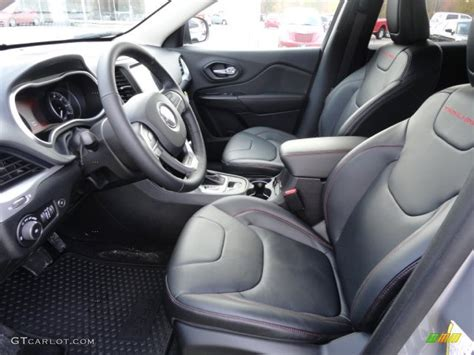Jeep Trailhawk Interior Morocco Black Interior 2014 Jeep Trailhawk 4x4