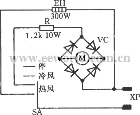 Hair Dryer Circuit Diagram wiring diagram for a hair dryer circuit and schematics