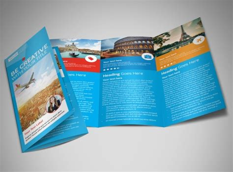 Awesome Tri Fold Brochure Design by Awesome Travel Agents Brochure Template Mycreativeshop