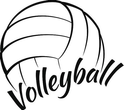 printable volleyball clipart バレーボール イラスト素材 istock