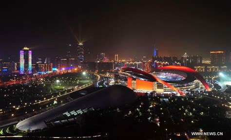 views 1 patriotic news views night scenic views of e china s nanjing 1 top news