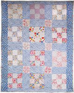 Crib Quilt Vintage 9 Patch Crib Quilt 1930s Q Is For Quilter