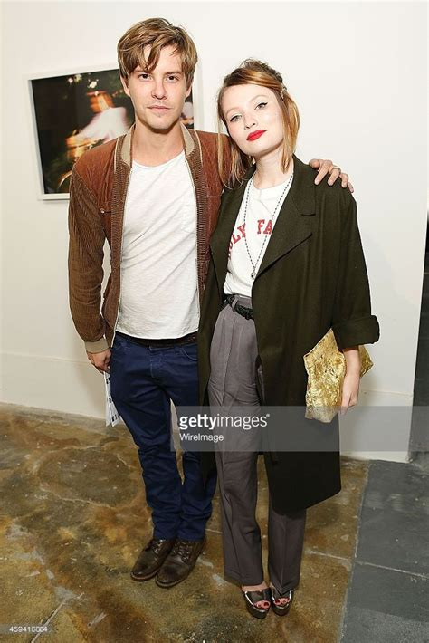 actor xavier samuel actors xavier samuel l and emily browning attend the
