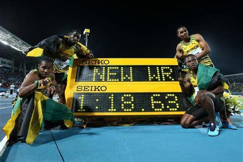 Jamaica Records Report S 4x200m Bahamas 2014 Iaaf Org