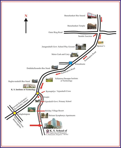 route map ks school of engineering and management