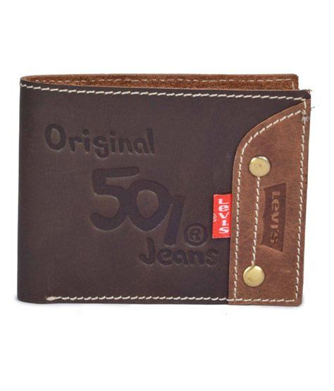 Levi S Gift Card Online - levis rich looking leather bi fold formal wallet with cards slots and coin pocket buy