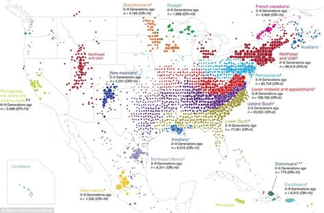 stunning maps reveal where americans came from news