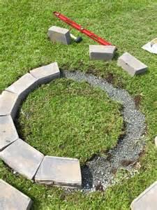 diy pit kit remodelaholic diy retaining wall block pit