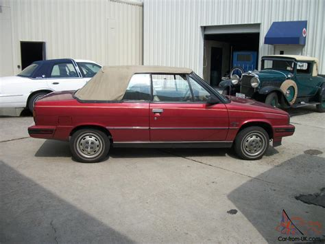 1985 renault alliance convertible 1985 amc renault alliance convertible