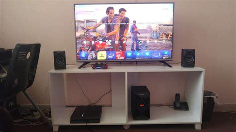 gaming setup ps4 my cave gamingsetups