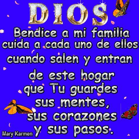 dios bendice mi hogar mi esposo y mis hijas carteles el mundo de los gifs dios bendice a mi familia