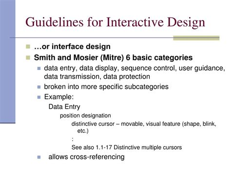 powerpoint design rules ppt design rules part b standards and guidelines
