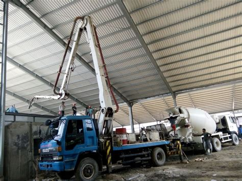 Pompa Beton Pompa Beton Mini Supplier Material Konstruksi