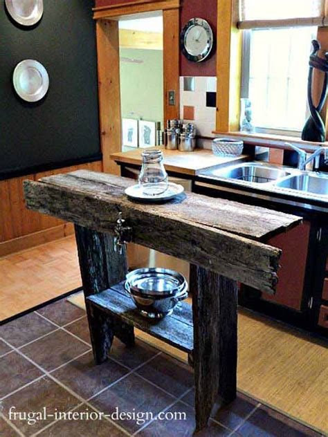 homemade kitchen islands 32 simple rustic homemade kitchen islands amazing diy
