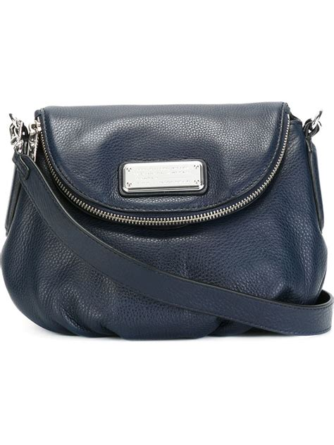 Marc By Marc Posh K Purse by Lyst Marc By Marc Logo Plaque Shoulder Bag In Blue