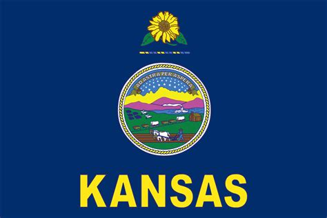 Kansas Search Kansas State Flag Images