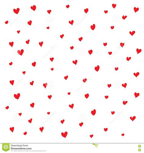 seamless heart pattern vector seamless red heart pattern stock vector image 74133394