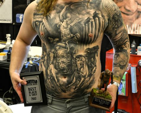tattoo expo seattle the coolest and craziest tattoos from the seattle