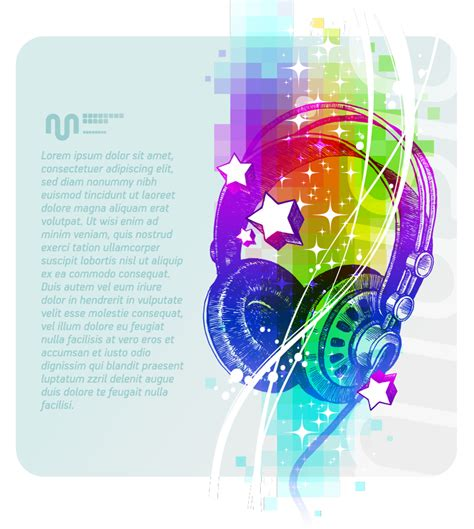 colorful headphones colorful headphones illustrator vector free vector