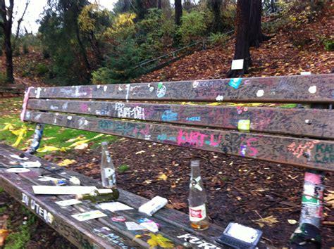 kurt cobain bench the bench at kurt cobain s house seattle pinterest bench
