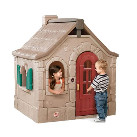 Step 2 Cottage Playhouse naturally playful 174 storybook cottage outdoor play by step2