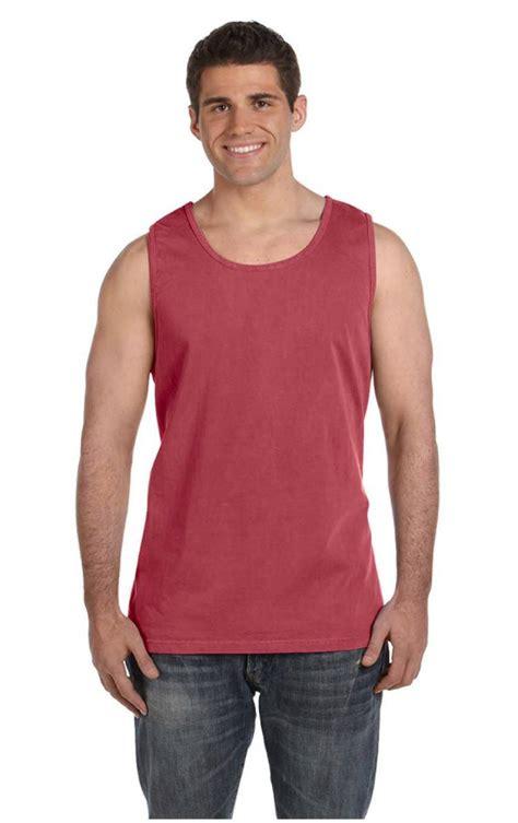 comfort color tanks wholesale new comfort colors mens tank top ringspun garment dyed big