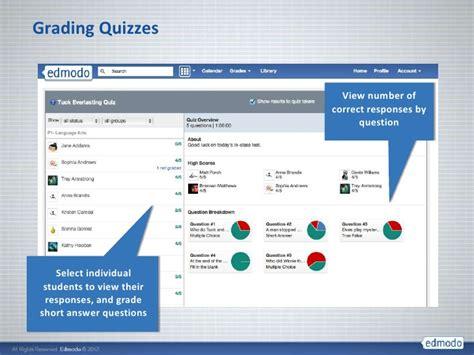 edmodo quiz show results edmodo training presentation june12