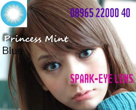 softlens princess mint 14 8mm spark eye softlens