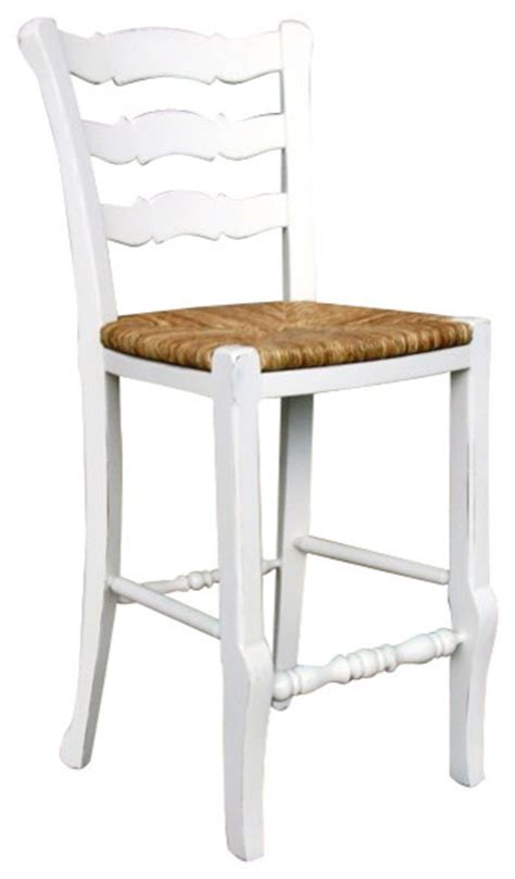 Country Bar Stools With Back by Country Ladder Back Counter Stool White Farmhouse Bar Stools And Counter Stools By