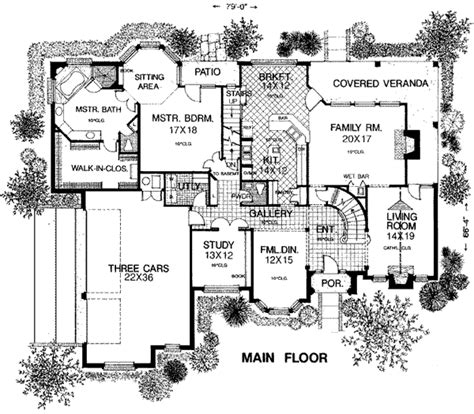House Plans Bungalow house plan 98539 at familyhomeplans com