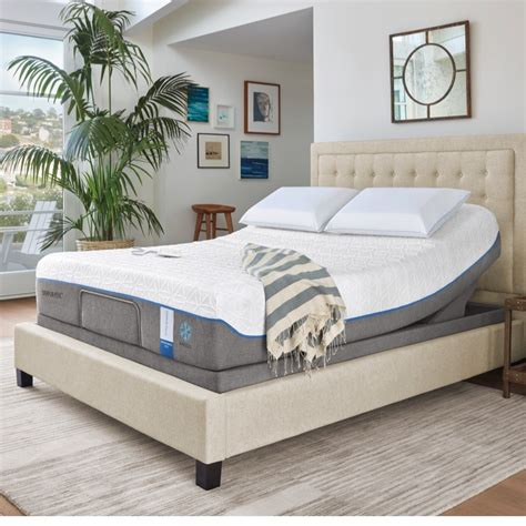 tempur pedic bed tempur pedic tempur up foundation quality sleep
