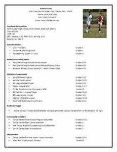 college recruiting profile template pin soccer coaching resume picture to